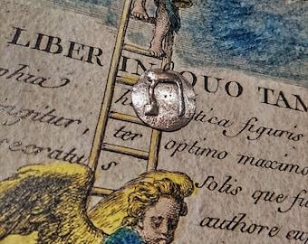 """Talisman """"Wonders of the letters wonders of being"""" Kabbalah Hebrew pendant"""