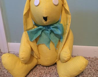 Stuffed cloth bunny rabbit