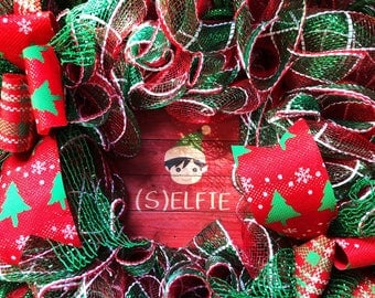 Christmas Wreath, Elf