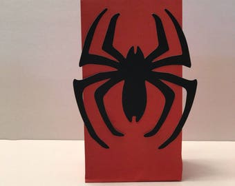 12 Spider-man spider Gift Bags