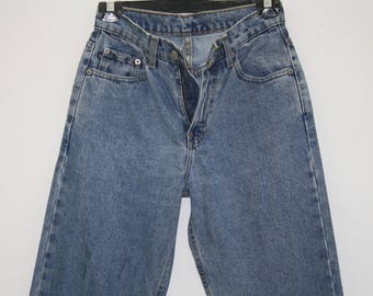 Polo Jeans Ralph Lauren Stone Washed Blue High Waisted Jeans SIze 2X31
