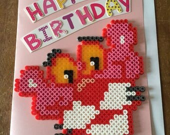 Pink Panther Birthday Card