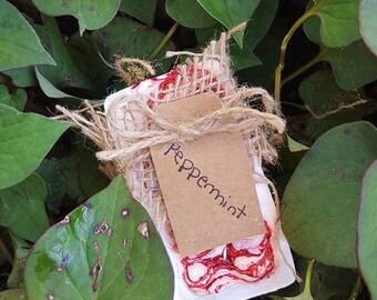 Peppermint Lye Soap