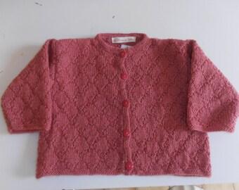 vest pink 6 months