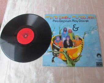 Vintage Vinyl Record, Vinyl Record MUNGO JERRY in Book, Balkanton, Vintage Music, Gift idea, Special gift