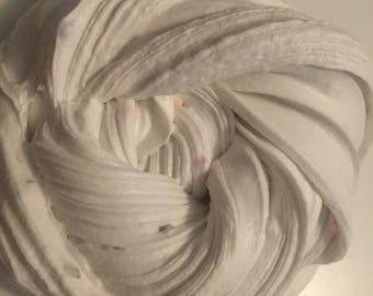 Confetti cupcake batter