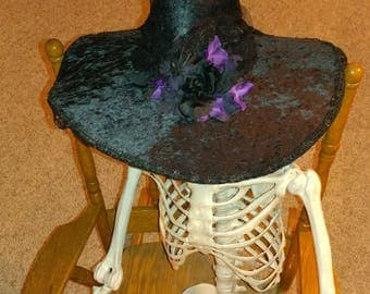 Victorian witchy witch hat