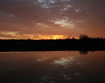 A Perfect Alaskan Sunset 2