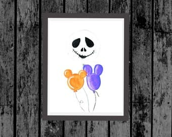 Disney Inspired Halloween Decor/Halloween Party Decor/Nightmare Before Christmas Decor/Printable Halloween Decor/Halloween Party Printable