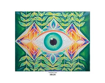 "Art Print - ""Visionary Lens"" by Soazik - Limited Edition, Numbered, Signed by Artist"