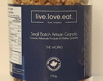 Small Batch Artisan Granola - The Works