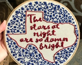 The stars at night, deep in the heart of texas
