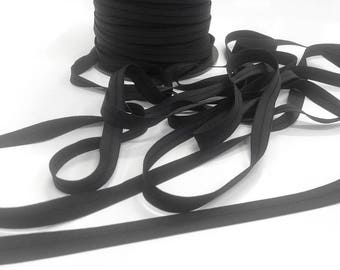 Black soft elastic edge