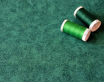 American patchwork fabric fine green patterns