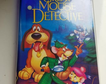 Disney black diamond the great mouse detective vhs