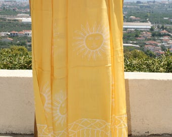 Pareo, traditional Indonesia, thai cotton, Chiffon, Rayon, summer beach sarong, big scarf, swimsuit cover up, wrap,shawl