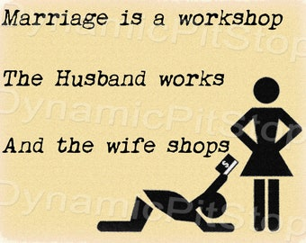 40x30cm Funny Marriage Tin Sign