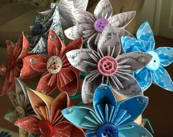 Handmade paper flowers -price is for one