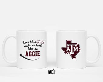 Aggie Ring Mug, 11 oz