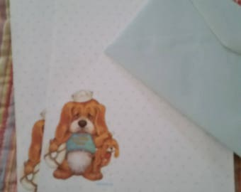 Vintage Stationery Collection ~ Critter Sitters Guard Dog Stationery  Mini Collection