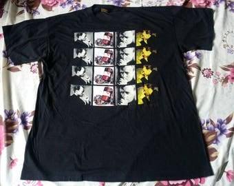 Vintage 90s PHIL COLLINS lead singer rock band Genesis far side tour pop rock world tour 1994 tee t-shirt