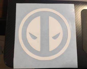 Deadpool vinyl decal