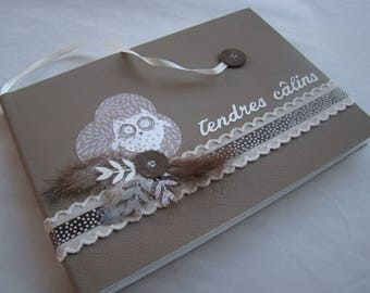 Birth or baptism guestbook