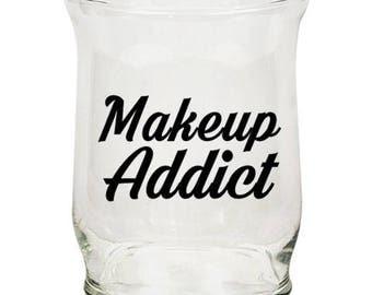 Makeup Addict | Decal | Car | Laptop | Wine Glass | Sticker