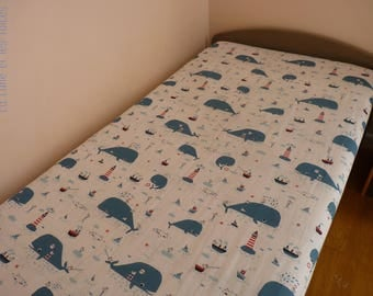 Kids fitted sheet / / square 1 fitted sheet