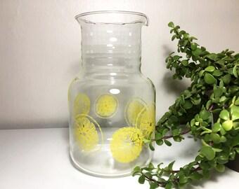 Vintage Pyrex Lemon Pitcher