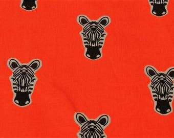 Childrens Zebra printed jersey fabric