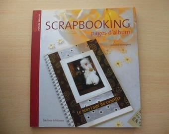 scrapbooking album creative paper pages book belem editions
