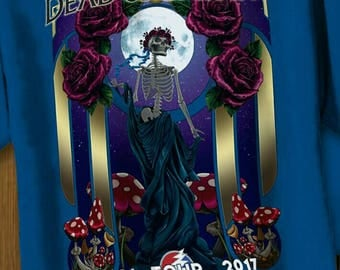 Dead and Company Fall Tour 2017 BERTHA TEE Shirt Direct to Garment