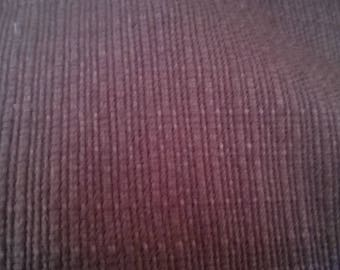 Upholstery fabric in cotton blend chocolate 150 x 144