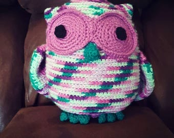 Crochet Stuffed Owl