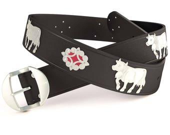 Appenzeller belt special / silver in 5 colors