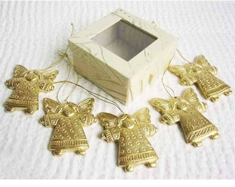 Christmas Angels gold