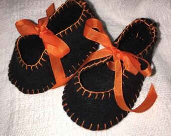 Halloween booties for baby