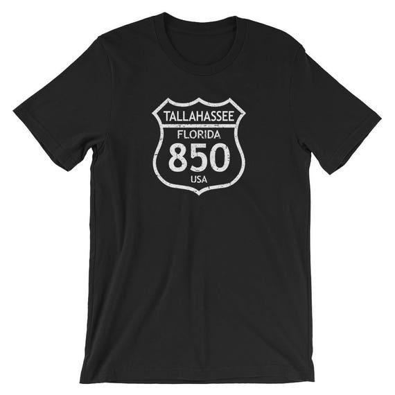 Tallahassee TShirt Tallahassee Area Code TShirt - 850 area code