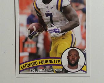 2015 Collegiate Hot Shots Rookie LEONARD FOURNETTE LSU