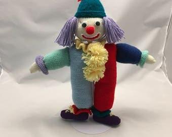 Handmade Toy Clown