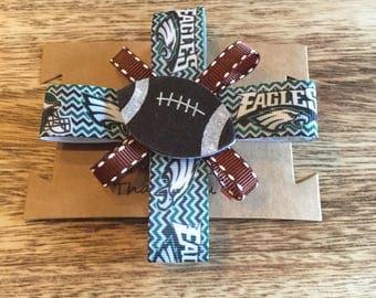 NFL Team Inspired Hair Clip-Foot Ball Hair Clip-NFL-Sports Team Hair Clip-Hair Clip