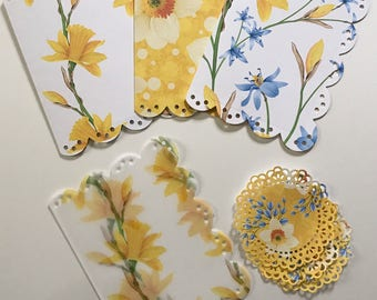Daffodil Scalloped Dashboard Set