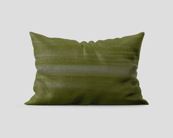 Olive Microfiber Pillow Sham