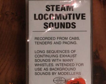 STEAM LOCOMOTIVE Sounds on Cassette