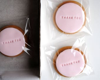 Thank you gift / Personalised gift / Biscuit Gift / Gift for Her / Gift For Him / Girlfriend / Iced Biscuits / Friend