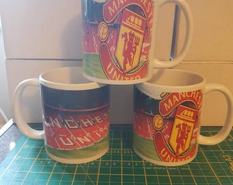 Personalized Manchester United mug