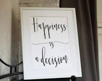 Inspirational print, nordic wall print, inspirational gift, quotes print, home decor wall art, bedroom decor, living room decor, wall decor