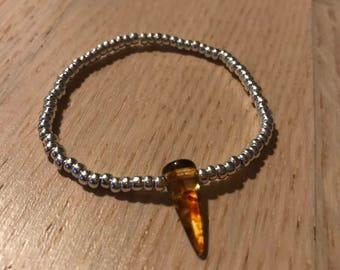 Elastic spike bracelet
