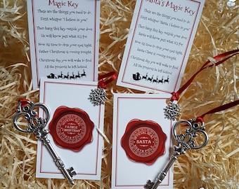 Magic Father Christmas Key, Magic Santa Key,